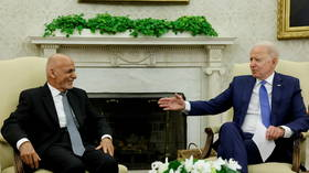 'We're going to stick with you,' Biden tells Afghan president at White House, promising 'sustained' partnership