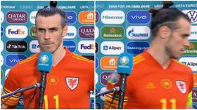 Furious Gareth Bale STORMS OUT of interview when asked if he's played last game for Wales after Denmark Euro 2020 drubbing (VIDEO)