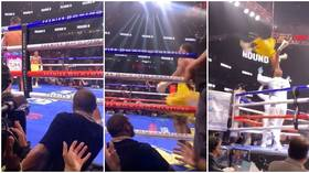 'You know who Floyd trained before you, right?' Jake Paul savagely trolls Mayweather after boxing icon trains with MMA foe Woodley