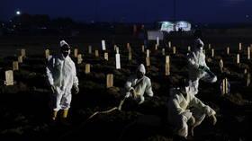 Indonesia 'on edge of catastrophe' as coronavirus Delta variant floods hospitals – Red Cross