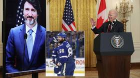 'OMG, they're just like us!' Biden and Trudeau make cringey Stanley Cup wager – and Russian star swings things US president's way