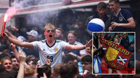 German minister slams 'utterly irresponsible' UEFA for putting 'commercialism' before Covid fears as masses mob Euro 2020 (VIDEO)