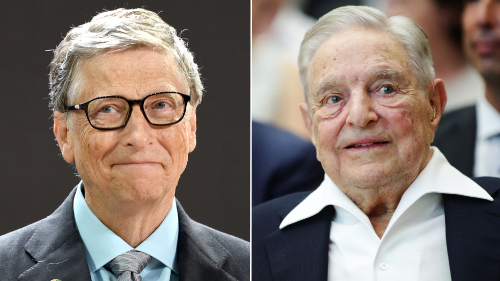 Bill Gates und Gerorge Soros springen angeblich ein, um einen Teil der von Großbritannien gekürzten Auslandshilfe zu decken, aber einige stellen ihre Absichten infrage