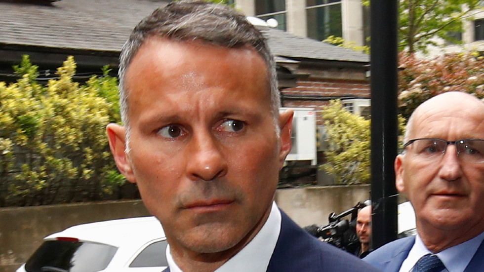 Court hears Manchester United icon Ryan Giggs 'kicked ex-girlfriend and threw her naked out of hotel room'