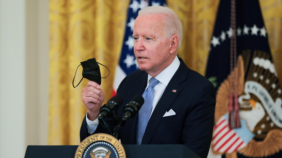 Biden orders mandatory Covid vaccines or tests for all federal employees, plus masks for workers and visitors