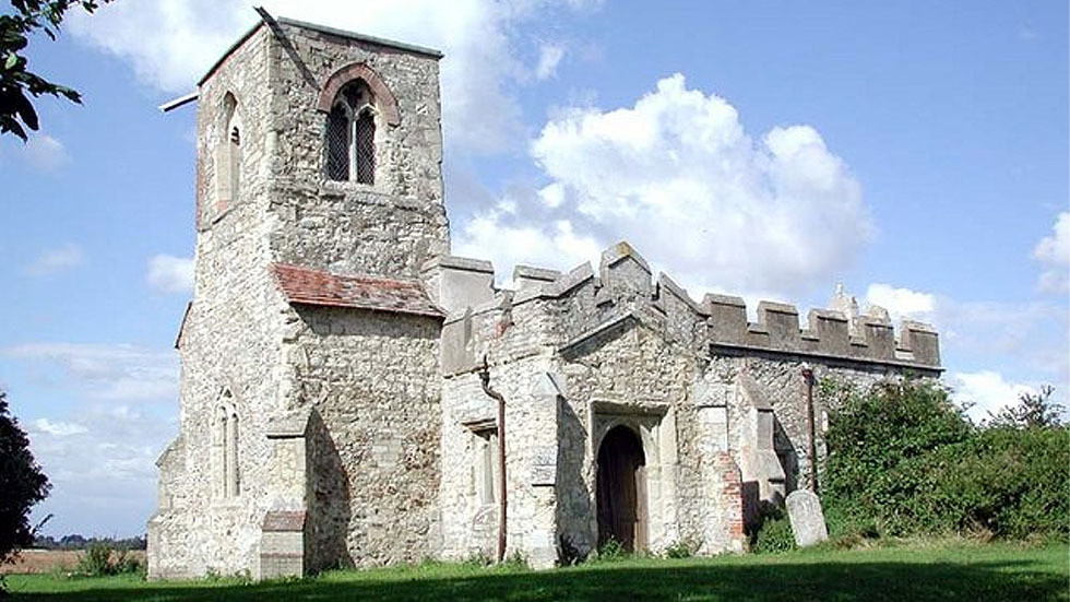 English church vandalised just days after reopening, with windows smashed & premises covered with bleach, fire extinguisher powder