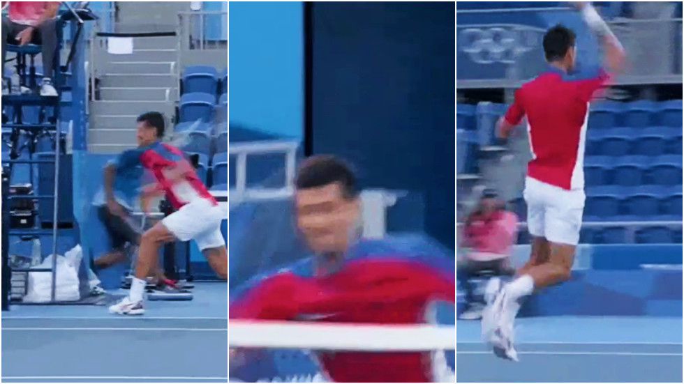 Novak Djokovic slammed by fans for 'inability to handle pressure' as he hurls racket into stands, crashes out of Olympics (VIDEO)