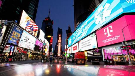 FILE PHOTO: Times Square in New York City.