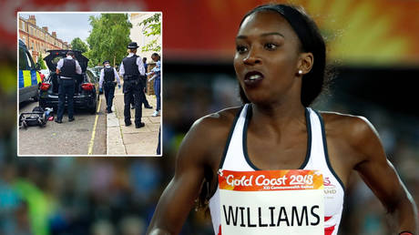 Track star Bianca Williams was stopped by police © Instagram / biancaawills   © Paul Childs / Reuters