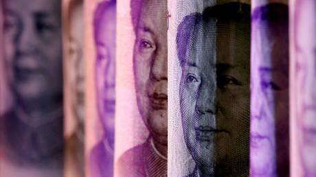 FILE PHOTO: Chinese yuan banknotes