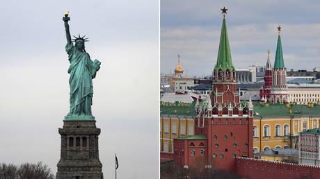 (L) © REUTERS / Carlo Allegri; (R) © Sputnik / Alexey Maishev