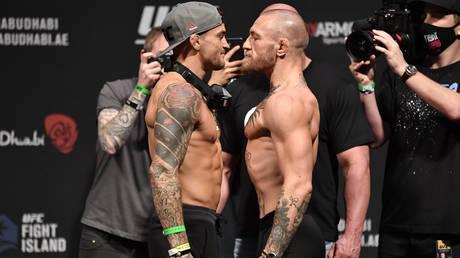 Conor McGregor has vowed to savage Dustin Poirier © Jeff Bottari / USA Today Sports via Reuters