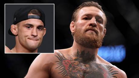 Conor McGregor (right) wants revenge over Dustin Poirier © Adam Hagy / USA Today Sports via Reuters   © Mike Blake / Reuters