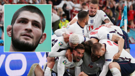 Khabib Nurmagomedov thinks England will win Euro 2020 © Christopher Pike / Reuters   © Laurence Griffiths / Reuters