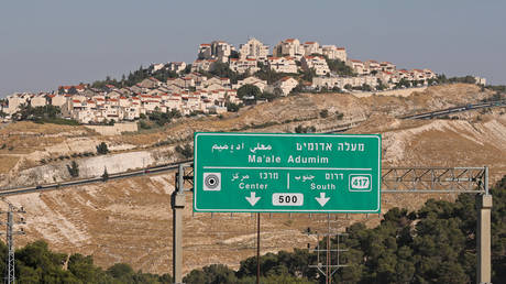 FILE PHOTO: A view shows the Jewish settlement of Maale Adumim in the Israeli-occupied West Bank,on June 30, 2020.