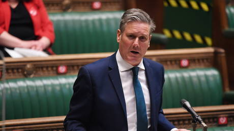 FILE PHOTO: Keir Starmer speaks during a session in Parliament in London, Britain, May 12, 2021 © Reuters / UK Parliament/ Jessica Taylor