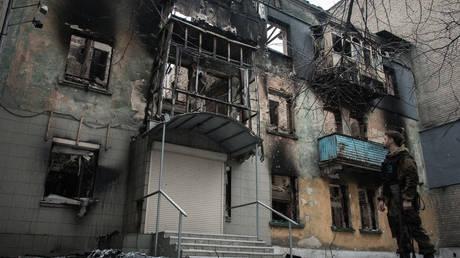 Debaltsevo, Donbass