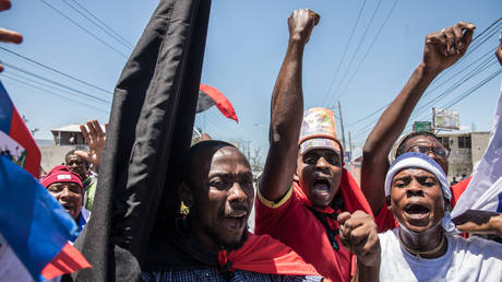 FILE PHOTO. Port-au-Prince, Haiti. © AFP / Valerie Baeriswyl