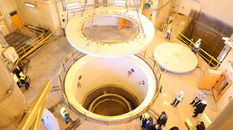 A view of the water nuclear reactor at Arak, Iran (FILE PHOTO) © WANA (West Asia News Agency) via REUTERS