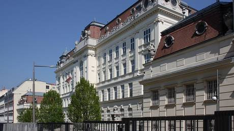 FLE PHOTO: US embassy building is seen in Vienna, Austria.