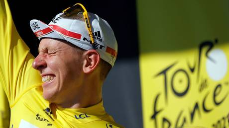 Tadej Pogacar has won the Tour de France 2021 © Stephane Mahe / Reuters