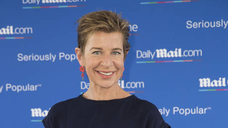 FILE PHOTO: Katie Hopkins arriving at a Mail on Line yacht party at the Cannes Lions festival in France, June 23, 2016 © Global Look Press /ZUMA Pres/ Stephen Lock