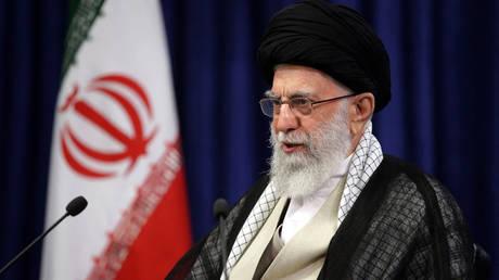FILE PHOTO. Iran's Supreme Leader Ayatollah Ali Khamenei. © AFP / KHAMENEI.IR