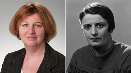 (L) Karen Buck. © Getty Images / Flying Colours; (R) Ayn Rand. © Getty Images / Oscar White