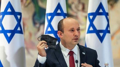 Israeli Prime Minister Naftali Bennett, July 19, 2021 file photo.