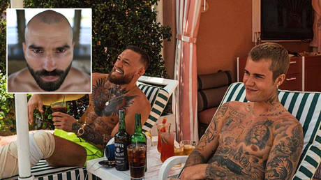 UFC star Conor McGregor (left) and pop singer Justin Bieber © Jonathan Bachman / Reuters  | © Instagram / thenotoriousmma
