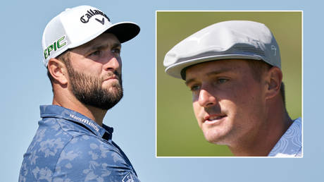 Jon Rahm (left) and Bryson DeChambeau are out of the Olympics © Peter van den Berg / USA Today Sports via Reuters
