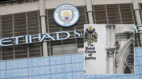 Man. City have reportedly been part of a hearing at the Royal Courts of Justice © Toby Melville / Reuters | © Phil Noble / Reuters