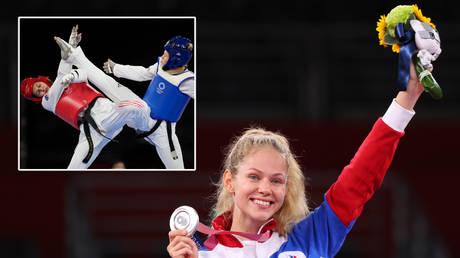 Tatiana Minina won silver at the Olympic Games © Murad Sezer / Reuters | © James Lang / USA Today Sports via Reuters