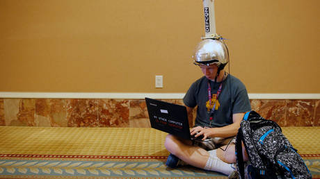 FILE PHOTO. Def Con hacker convention in Las Vegas. © Reuters / STEVE MARCUS