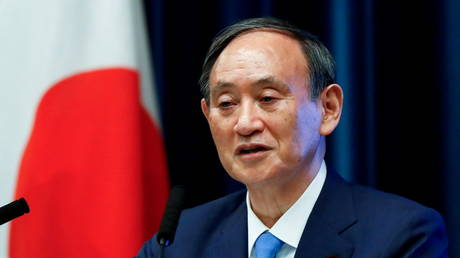FILE PHOTO. Japan's Prime Minister Yoshihide Suga, June 17, 2021.