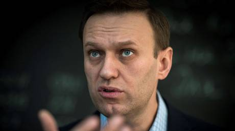 FILE PHOTO. Russian opposition leader Alexei Navalny. © AFP / Mladen ANTONOV