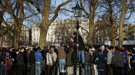 Speakers' Corner in Hyde Park, London (January 2015 FILE PHOTO)