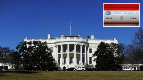 FILE PHOTO. The White House. © AFP / JEWEL SAMAD; (inset) © Reuters / Maxim Shemetov .