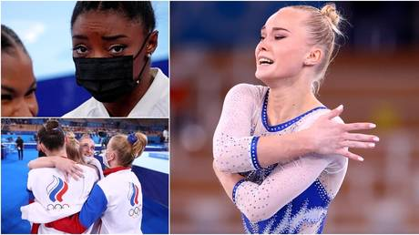 The Russian team claimed gold ahead of the US in Tokyo. © Reuters