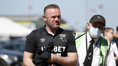 Rooney reportedly injured one of his own players. © Reuters