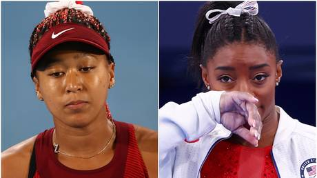 Naomi Osaka and Simone Biles have both recently quit in the middle of major sporting events citing mental health issues - Reuters
