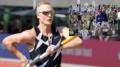 Positive Covid test for US pole vault star Sam Kendricks sends ENTIRE Australian athletics team into isolation at Olympics