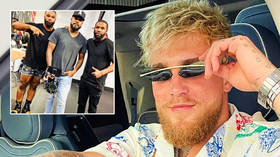 'F*ck you, b*tch': Jeweler puts $100,000 necklace of KO'd Conor McGregor around swearing Jake Paul's neck ahead of UFC 264 (VIDEO)