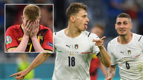 'We tried everything': De Bruyne despair after Italy edge Belgium out of Euro 2020 via Lukaku penalty and spurned sitter (VIDEO)