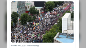 'Workplace deaths & dismissals scarier than Covid': Labor unions hold massive rally in Seoul despite PM's warning (PHOTOS)