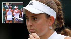 'You have no respect': Female tennis aces in huge row after player halts match for injury when she'd lost 7 straight games (VIDEO)