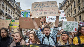 French senate votes against referendum on protecting climate change fight within constitution