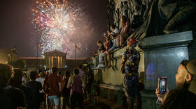 Philadelphia July 4th revelers sprayed with about 100 BULLETS during fireworks show as major US cities again hit by gun violence
