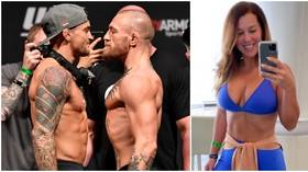 'There is a line': Fans OUTRAGED as Conor McGregor drags Dustin Poirier's wife into UFC 264 feud, posts image of 'DM request'
