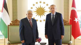 Turkey will not be silent about Israel's 'atrocities', Erdogan tells Palestinian President Abbas